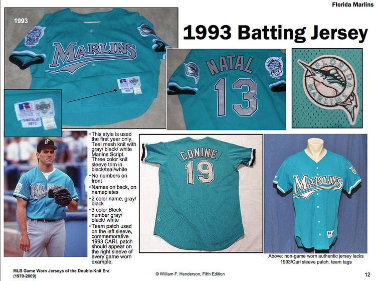 1993 Florida Marlins season Florida Marlins 1993 BP Jersey LI Phil Flickr