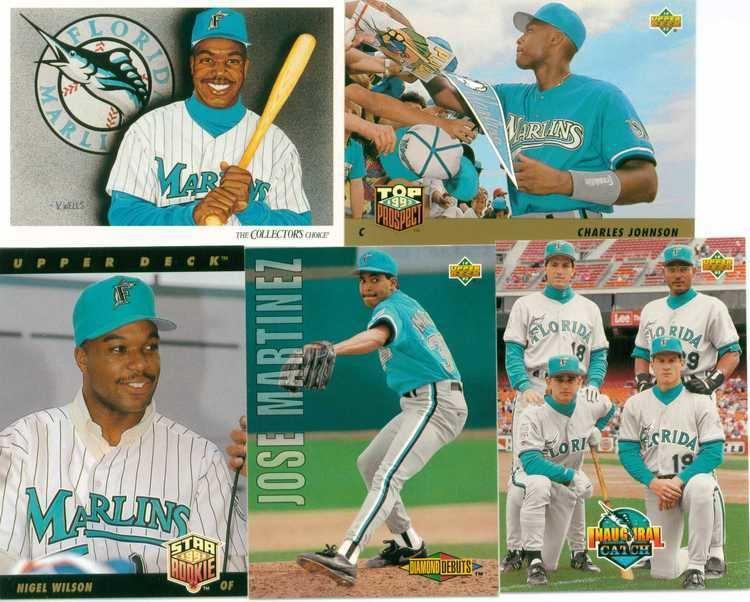 1993 Florida Marlins season 1993 florida marlins 30Year Old Cardboard