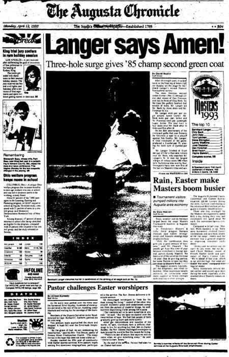 1993 Masters Tournament wwwaugustacomsitesdefaultfilesimagecachesup