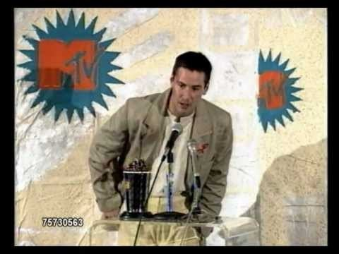 1993 MTV Movie Awards 1993 MTV Movie Awards Keanu Reeves June 5 1993 YouTube