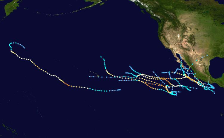 1993 Pacific hurricane season