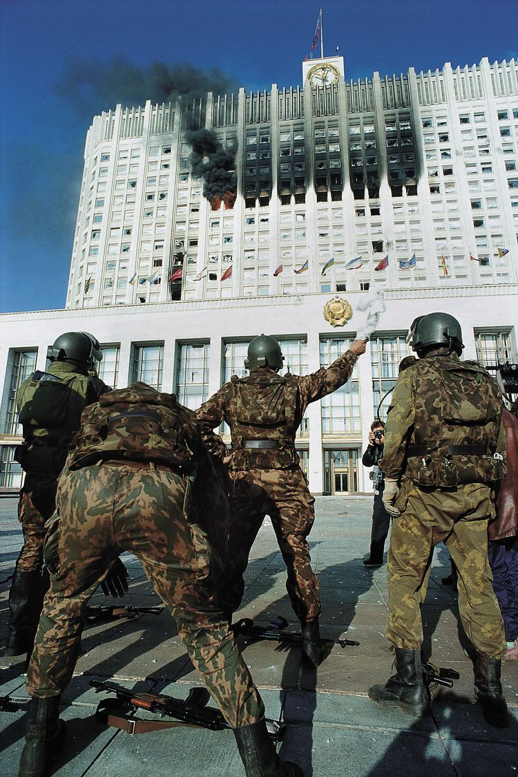 1993 Russian constitutional crisis Black October Revisited Photo Essay