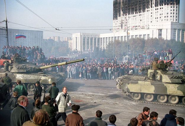 1993 Russian constitutional crisis Yeltsin Under Siege The October 1993 Constitutional Crisis