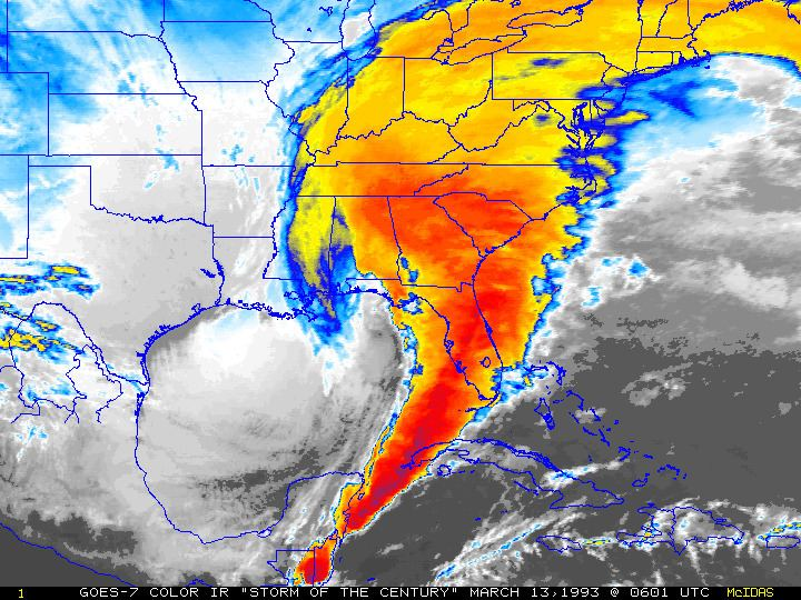 1993 Storm of the Century Remembering the Storm of the Century 20 Years Later National