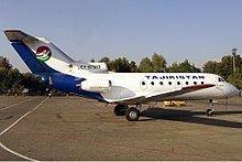 1993 Tajik Air Yakovlev Yak-40 incident httpsuploadwikimediaorgwikipediacommonsthu