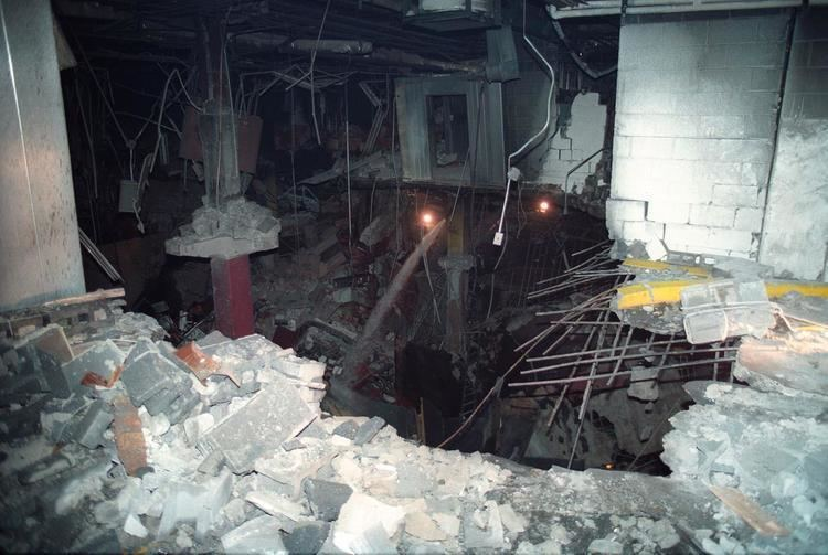1993 World Trade Center bombing Damage from the 1993 World Trade Center bombing Photos The 1993