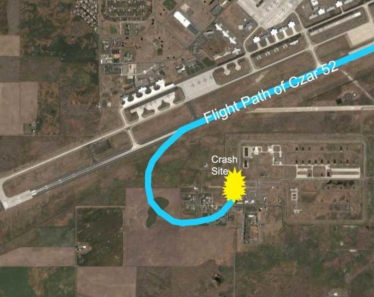 1994 Fairchild Air Force Base B-52 crash Crash of 39Czar 5239