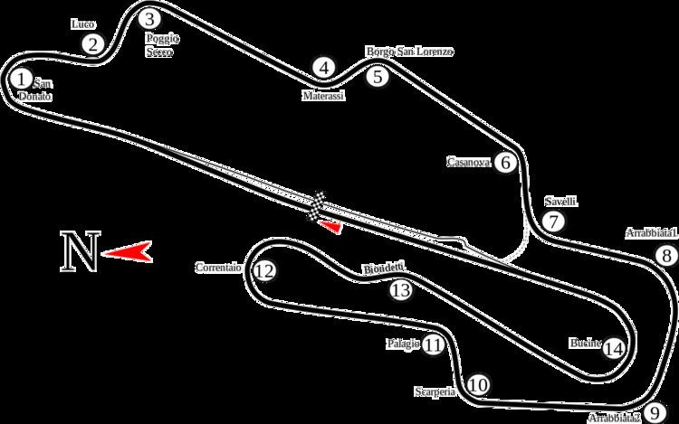 1994 Italian motorcycle Grand Prix