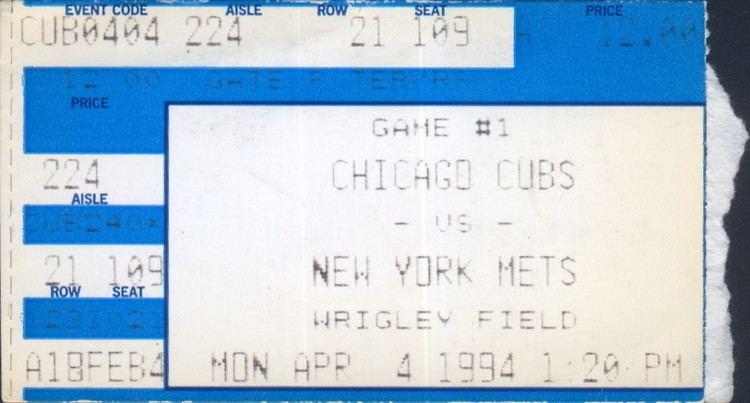1994 Major League Baseball season
