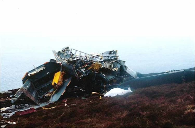 1994 Scotland RAF Chinook crash Chinook Crash Mull Of Kintyre 2 June 1994 Memories of a sad call