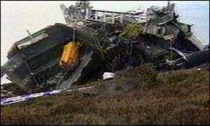 1994 Scotland RAF Chinook crash BBC News UK New evidence on Chinook crash
