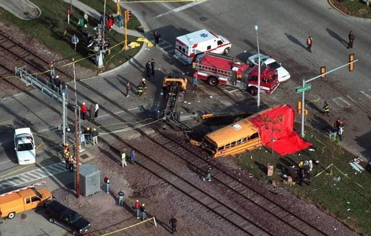 1995 Fox River Grove bus–train collision 20 years after Fox River Grove bus accident difficult emotions linger