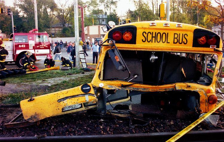 1995 Fox River Grove bus–train collision Fatal Fox River Grove bustrain tragedy still painful 20 years