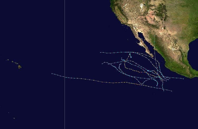 1995 Pacific hurricane season