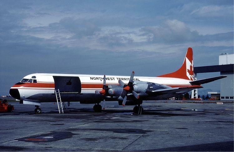 1995 Trans Service Airlift Electra crash
