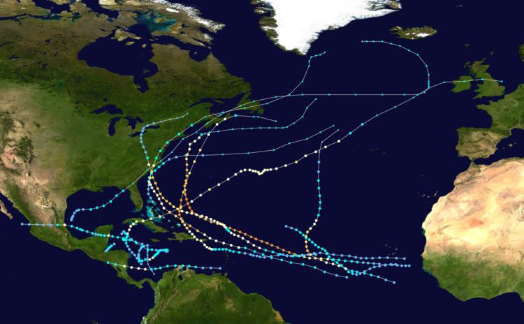 1996 Atlantic hurricane season
