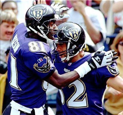 1996 Baltimore Ravens season Would you like to see a Ravens throwback jersey Ravens Talk