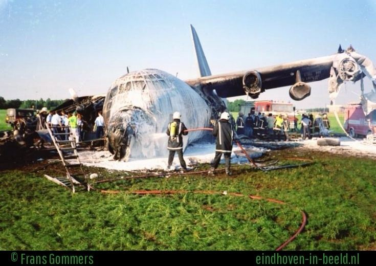 1996 Belgian Air Force Hercules accident Herculesramp