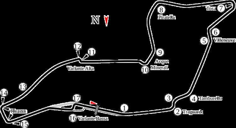 1996 City of Imola motorcycle Grand Prix