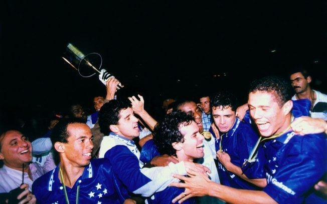 1996 Copa do Brasil Cruzeiro comemora 20 anos do ttulo da Copa do Brasil de 1996