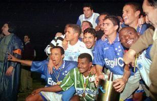 1996 Copa do Brasil Cruzeiro comemora ttulo da Copa do Brasil de 1996 no Parque