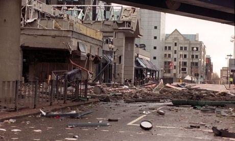 1996 Docklands bombing The London Docklands bombing Belfast Child