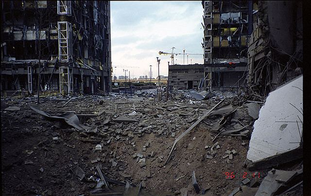 1996 Docklands bombing Failure of Humanity The South Quay Bombing 1996 Isle of Dogs Life