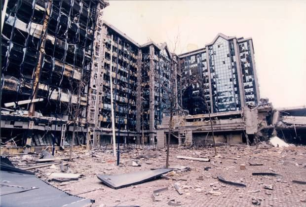1996 Docklands bombing Docklands Bomb IRA bombed its way to talks table with Canary Wharf