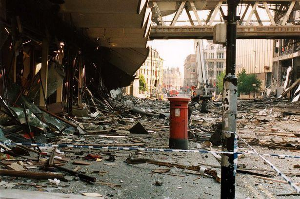 1996 Manchester bombing Where were you when the IRA bombed Manchester in 1996 Manchester