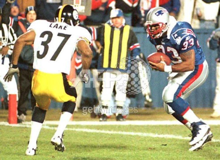 1996 New England Patriots season Sam Gash 1996 Game Worn New England Patriots Jersey with Multiple