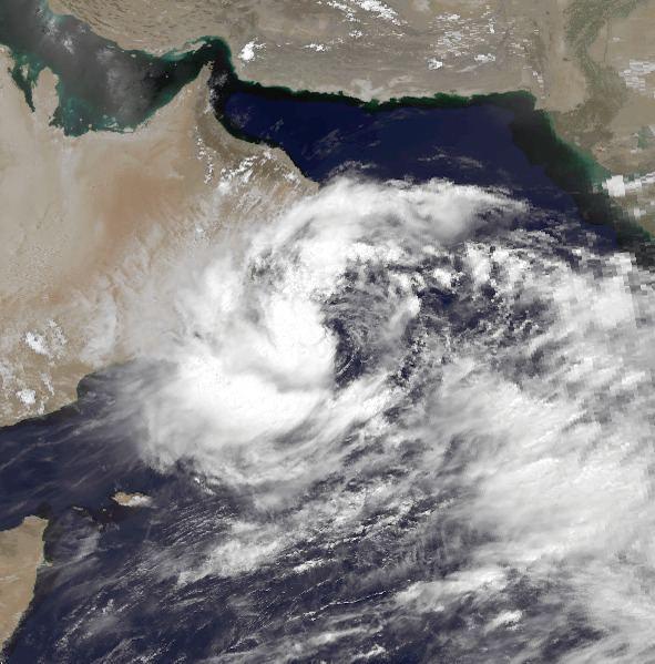 1996 Oman cyclone