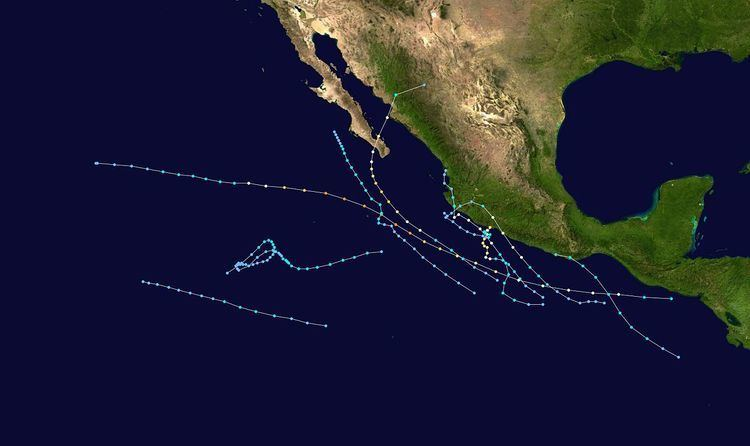 1996 Pacific hurricane season