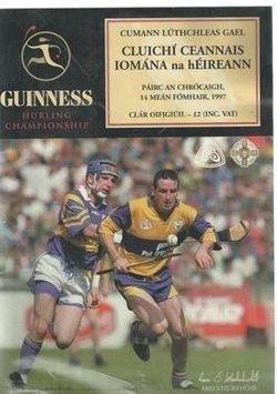 1997 All-Ireland Senior Hurling Championship Final httpsuploadwikimediaorgwikipediaenthumb6