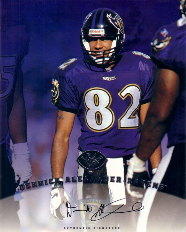 1997 Baltimore Ravens season epyimgcomayautographsforsalederrickalexander