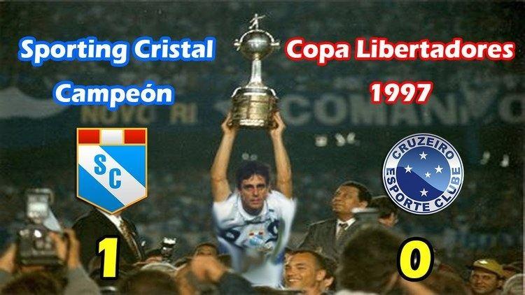 1997 Copa Libertadores Sporting Cristal Campen Copa Libertadores 1997 Gol de Julinho