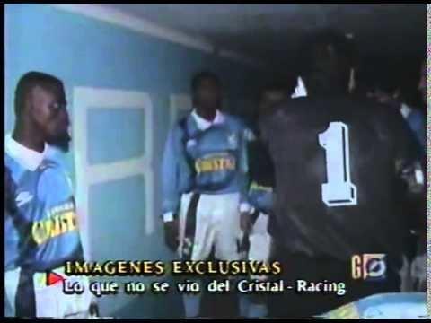 1997 Copa Libertadores COPA LIBERTADORES 1997 2DA SEMIFINAL SPORTING CRISTAL RACING 4X1