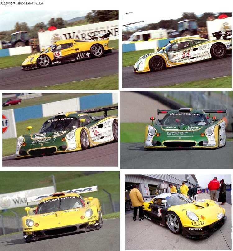 1997 FIA GT Championship Lotus Elise GT1 FIA GT 1997 set