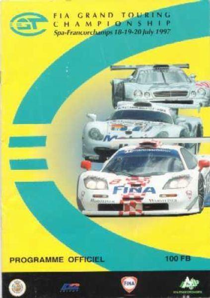 1997 FIA GT Championship wwwracingsportscarscomcoversSpa19970720jpg