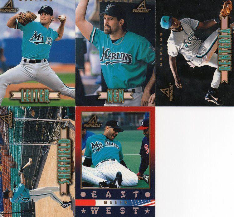 1997 Florida Marlins season 1997 florida marlins 30Year Old Cardboard