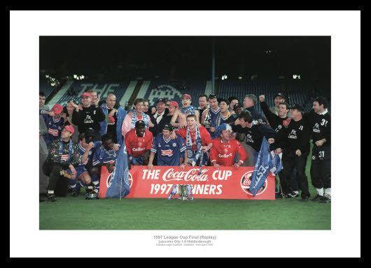 1997 Football League Cup Final wwwintosportcoukuseracatalogLeicester1997Le