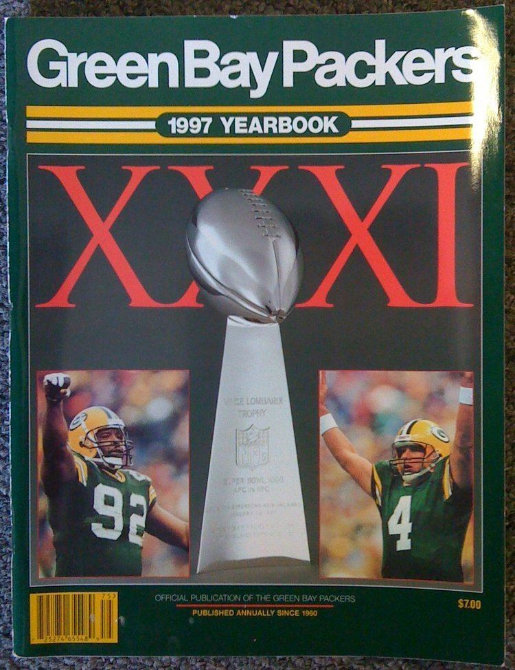 1997 Green Bay Packers season smncccomstoreimagesP187402020199720Yearbo