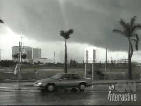 1997 Miami tornado Miami Tornado 1997 YouTube