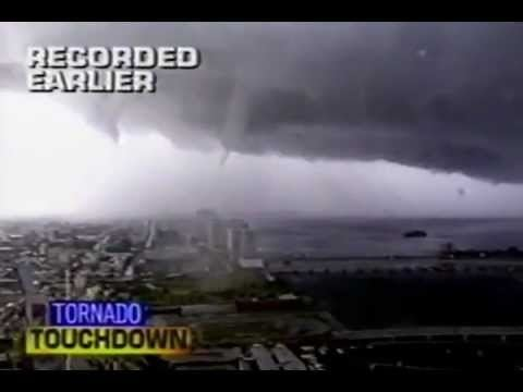 1997 Miami tornado SHOCKING Miami Tornado May 1997 CRAZY YouTube