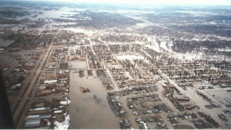 1997 Red River flood 1997 Red River flood hits Grand Forks Clio