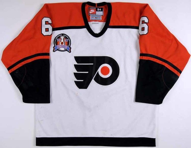 1997 Stanley Cup Finals 199697 Chris Therien Philadelphia Flyers Stanley Cup Finals Game