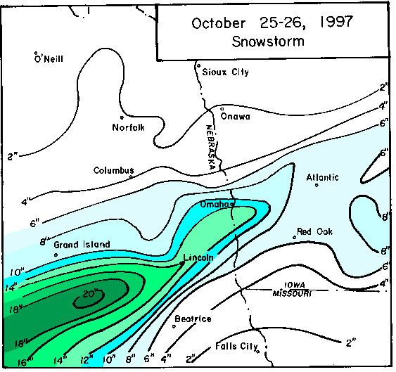 1997 Western Plains winter storms