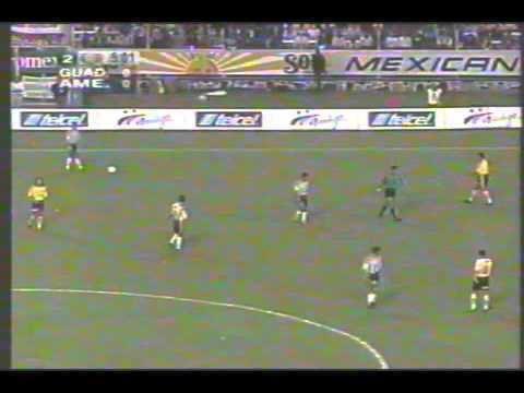 1998 Copa Libertadores Fragmento del partido Guadalajara vs Amrica de Copa Libertadores