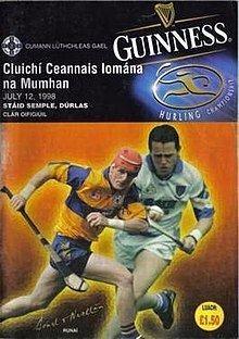 1998 Munster Senior Hurling Championship Final httpsuploadwikimediaorgwikipediaenthumb3