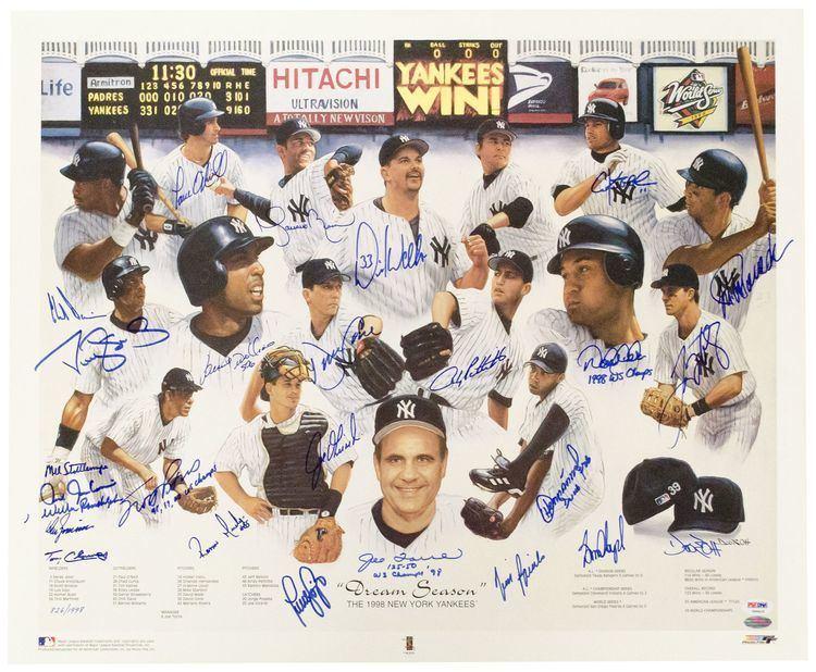 1998 New York Yankees season goldinauctionscomItemImages0000066660algjpeg