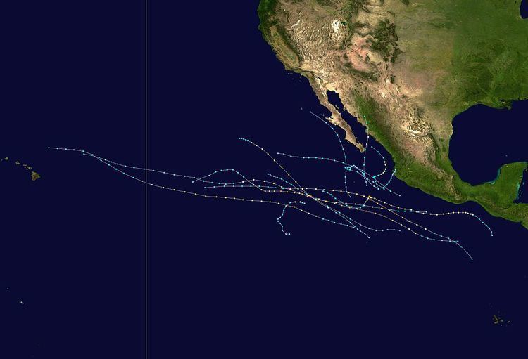 1998 Pacific hurricane season